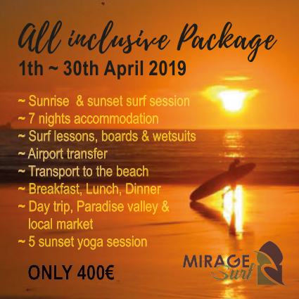 Surf Holiday Offer